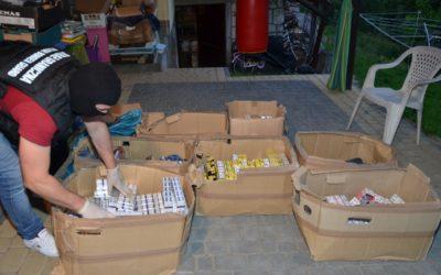 Zabezpieczono nielegalne wyroby tytoniowe warte ponad pół mln zł
